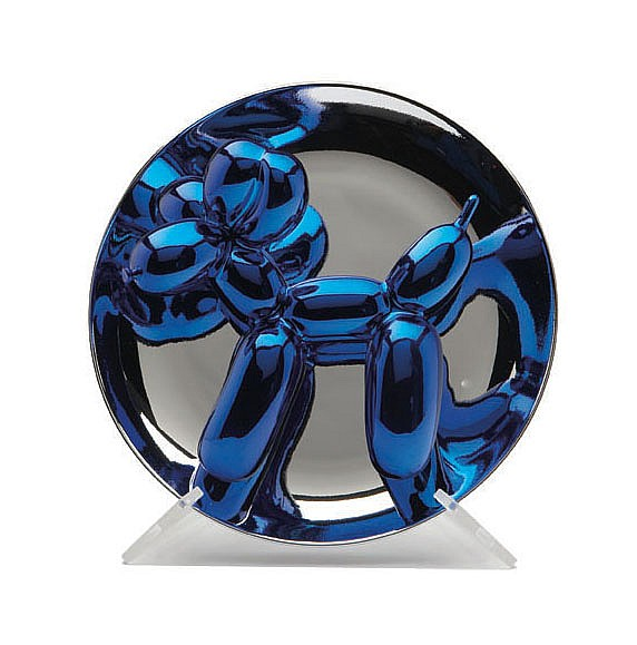 Jeff Koons Balloon Dog (Blue)