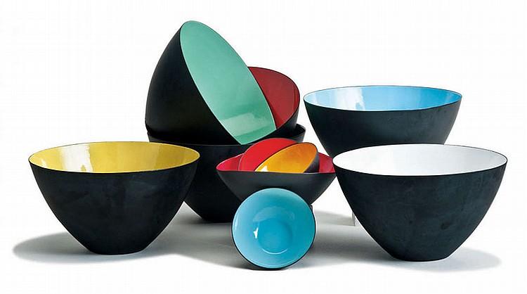 Herbert  Krenchel Krenit bowls (10)