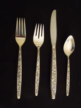 4 pc. Sterling VALENCIA Pattern Place Setting