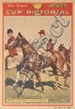 1948 MELBOURNE CUP WINNER RIMFIRE, ARGUS SUPPLEMENT SIGNED BY JOCKEY RAY NEVILLE Overall 64cm x 45cm