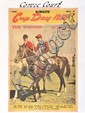 COMIC COURT 1950 MELBOURNE CUP ARGUS SUPPLEMENT SIGNED BY JOCKEY PAT GLENNON Overall 51cm x 41cm