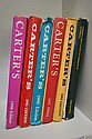 SEVEN CARTERS ANTIQUES PRICE GUIDE BOOKS. YEARS 88, 92, 93, 95, 98 AND 2002