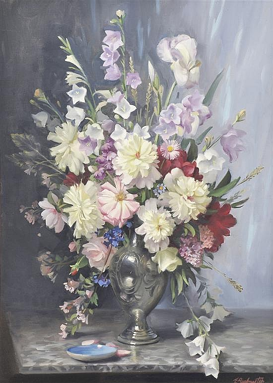 ERNEST BUCKMASTER (1897-1968) Mixed Bunch oil on canvas