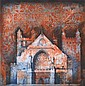 JORG SCHMEISSER (1942-2012) Exeter Cathedral, Winchester Tiles 1990 etching 49/100