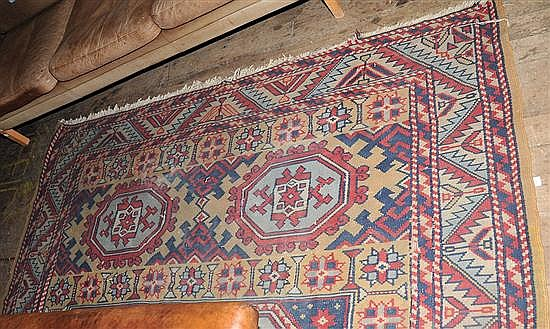 A TURKISH FLOOR RUG