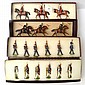 FOUR SETS OF IMPERIAL PRODUCTIONS COLLECTORS FIGURES INCLUDING NO.107 GRENADIERS A PIED; NO.117 MAMELUKES; NO.125 SEAMEN OF THE GUAR...