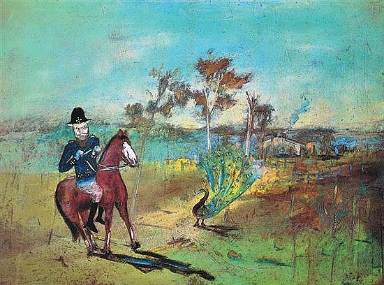 SIDNEY NOLAN (1917-1992) The Alarm 1971 screenprint 29/60