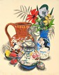 FRED CRESS (1938-2009) Brown Jug 2000 screenprint 48/50