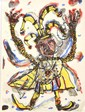 DAVID LARWILL (1956-2011) Rigoletto 1988 lithograph A/P