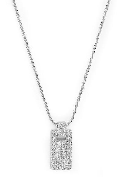 A DIAMOND PENDANT