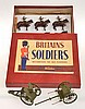 BRITAINS NO.2077 KINGS TROOP, ROYAL HORSE ARTILLERY, WITH GUN, LIMBER AND TEAM
