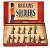 BRITAINS SET NO. 1290 BRITISH INFANTRY BAND OF THE LINE IN PEAK CAPS