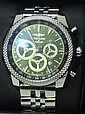 A GENTLEMANS BREITLING AUTOMATIC CHRONOGRAPH WRISTWATCH, FOR BENTLEY BARNATO RACING, SKELETON BACK, A2536636624 / BB09, SERIAL 23958...