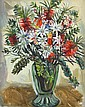 MARGARET PRESTON (1875-1963) Bottlebrush and Flannel Flowers 1951 oil on canvas