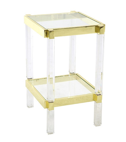 CHARLES HOLLIS JONES (born 1945)A METRIC SIDE TABLE, DESIGNED c.1965