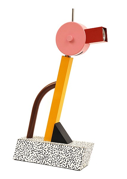 ETTORE SOTTSASS (1917-2007)A TAHITI LAMP, DESIGNED 1981