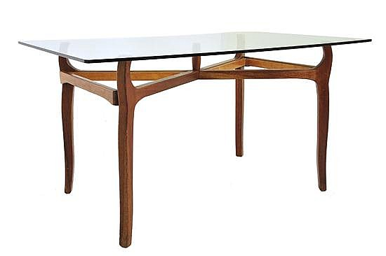 SCHULIM KRIMPER (1893-1971)A DINING TABLE