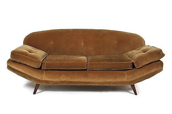 attributed to SCHULIM KRIMPER (1893-1971)A SOFA