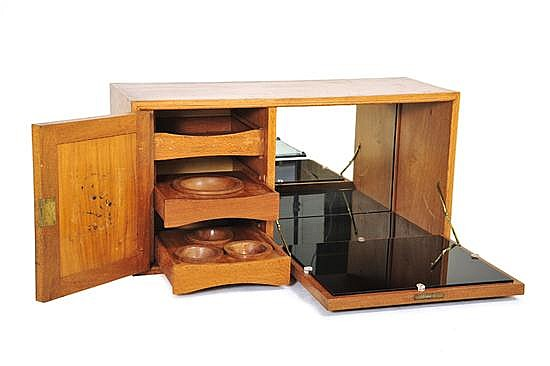 SCHULIM KRIMPER (1893-1971)A FITTED BAR CABINET