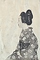 EMIL ORLIK (CZECHOSLOVAKIAN, 1870-1932) Geisha 1902 etching and aquatint