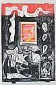 JUAN DAVILA (BORN 1946) Grafting 1989 screenprint H.C. 1/11