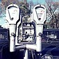 ANGUS O'CALLAGHAN (BORN 1922) Parking Meters archival print on rag paper 1/15