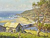 WILLIAM ROWELL (1898-1946) Wye River Vista oil on canvas