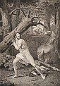 WILLIAM BLAKE (BRITISH, 1757-1827) Untitled 1785 (After Thomas Stothard) engraving