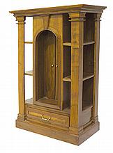 A FRENCH WALNUT ECCLESIASTICAL CABINET