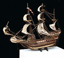 A DETAILED STATIC MODEL SHIP