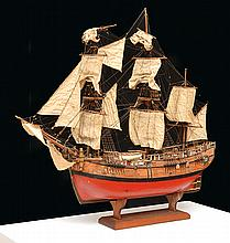 A DETAILED STATIC MODEL OF THE HMS ENDEAVOUR