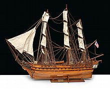 A DETAILED STATIC MODEL OF THE USS CONSTITUTION 1797, 20TH CENTURY