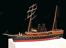 A DETAILED STATIC MODEL STEAMBOAT