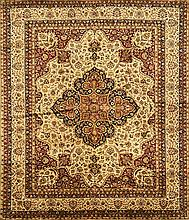 A PERSIAN TABRIZ FLOOR RUG
