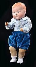 AN ARMAND MARSEILLE AM 352/4 BISQUE HEAD BABY DOLL