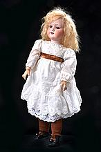 AN ARMAND MARSEILLE 390 BISQUE HEAD JOINT COMPOSITION BODY DOLL