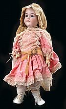 A LARGE ARMAND MARSEILLE 390 BISQUE HEAD DOLL
