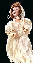 AN ARMAND MARSEILLE AM 390 BISQUE HEAD GIRL DOLL