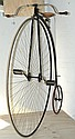 COVENTRY MACHINIST CO. SPECIAL CLUB 56 INCH PENNY FARTHING