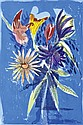 CHARLES BLACKMAN (BORN 1928) The Melbourne Cup Bouquet 1989 screenprint 15/90