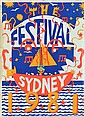 MARTIN SHARP (BORN 1942) The Festival of Sydney 1981 screen print