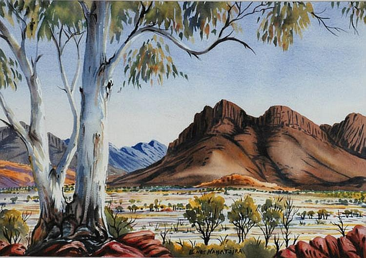 ENOS NAMATJIRA (1920 - 1966) Central Australian