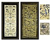 PAIR Vintage Framed Asian Textiles