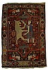 King and Lion Oriental Rug