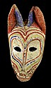 Circa 1900 Canine / Perro Mask, Dance of the Dogs