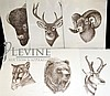 6 NRA Hunting Print Set, Gene Galasso Big Game
