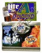 2 metal Miller Lite signs, Diamond Backs & 35th