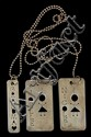 Sterling Dog Tags & Sterling Chain