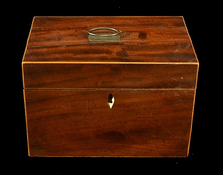 19th C. English Tea Caddy,