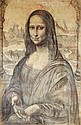 Hand Drawn Picture of The Mona Lisa, 44